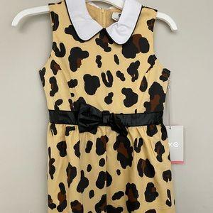 Harujuku mini leopard girls dress